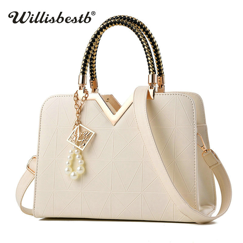 2019 New Summer Female Bag For Ladies Phone Pocket Zipper Woman Handbags Flap Famous Brand Leather Women Shoulder Crossbody Bags(China)