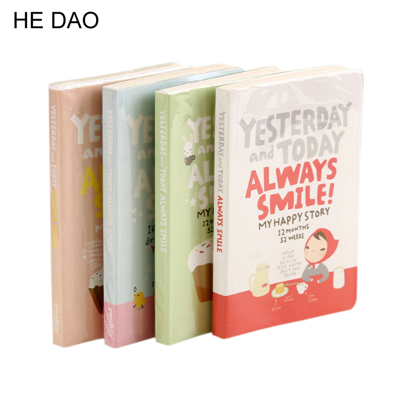 Cute Notebook Red Hat Girl Agenda Week Plan Diary Day Planner Journal Record Stationery Office School Supplies солженицын а и рассказы