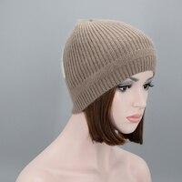 المرأة الشتاء قبعة صوف محبوك بيني القبعات النسائية قبعات عارضة skullies تزلج سميكة الدافئة الناعمة القبعات للنساء
