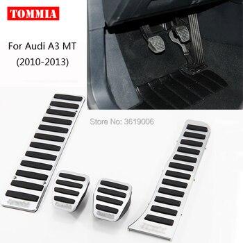 Kit de plaquettes de frein à gaz pour repose-pieds en aluminium tommia pour Audi A3 MT 2010-2013 sans perçage design cool