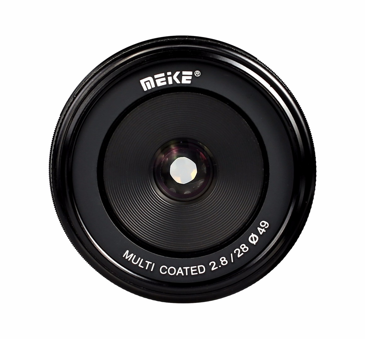 Meike MK-EF-M-28-2.8 28mm f/2.8 fixed manual focus lens for Canon EOS M1 M2 M3
