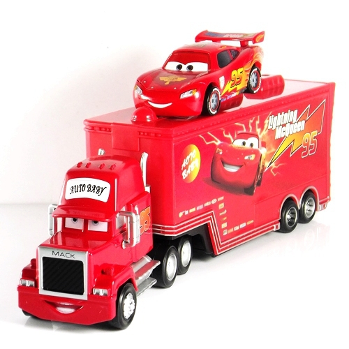 Mack truck mc queen no 95 de pixar cars 2 mini coche - Juguetes disney cars ...
