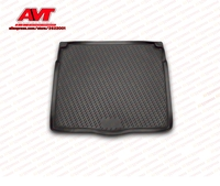 Trunk mats for Opel Astra J 5D 2009 hatchback 1 pcs rubber rugs non slip rubber interior car styling accessories
