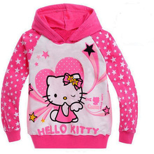 New 2016 Cartoon Children hoodies kids T-shirt boys girls outerwear baby spring autumn Long sleeve sweatshirts