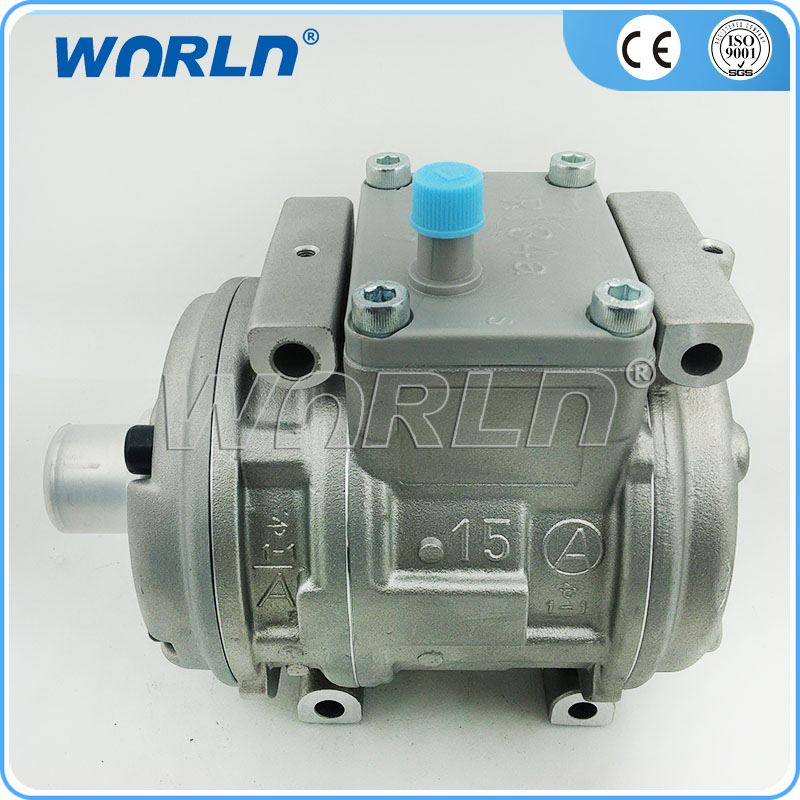 Auoto AC Compressor 10PA15C for Universal Toyota Camry Hiace/Lexus/MITSUBISHI L300  R134A/R404A Refrigerant 447200-0157 447200-  new car ac compressor 88320 36560 88320 36530 for toyota coaster bus 7pk 10p30c