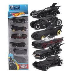 1: 64 6 шт./компл. Bat колесница комплект сплава моделей автомобилей игрушка американский фильм 6th поколения Bat колесница металлические машинки