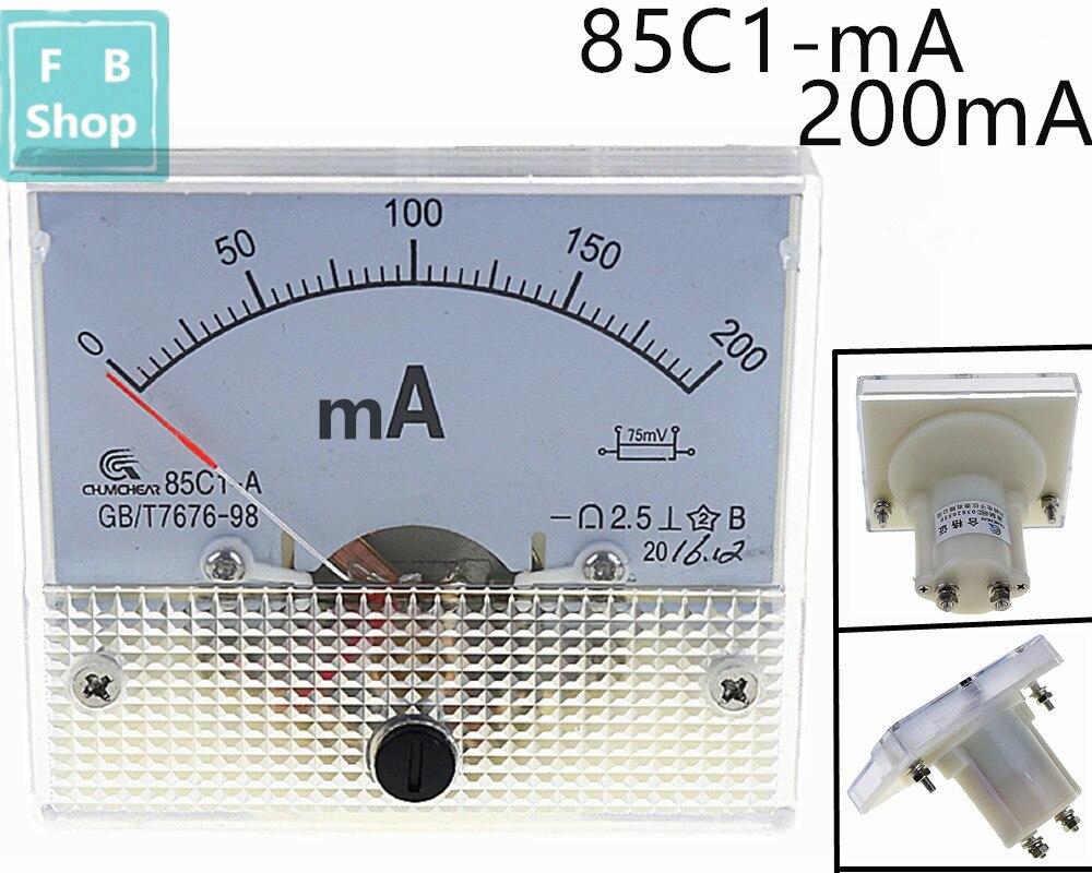 1PCS 85C1-mA 30mA 50mA 100mA 200mA 300mA