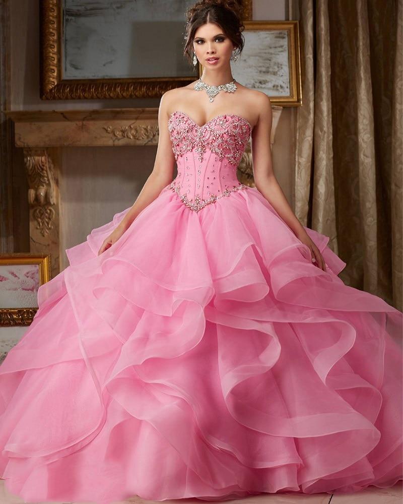 15 Fancy Up Do Tutorials: Sweet Quinceanera Dress Vestidos De 15 Anos Debutante Hot