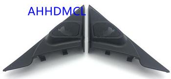 Samochodów wysokotonowy głośnik pudełka gumowe drzwi kątowe do Mazda 3 Axela 2006 2007 2008 2009 tanie i dobre opinie Skrzynek głośnikowych Black AHHDMCL ABS+PC+Metal 0 25kg Car audio door angle gum tweeter refitting