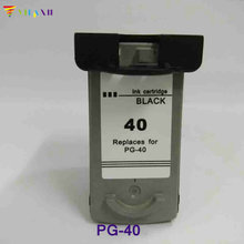 Pg-40 Ink Cartridge for Canon PG40 for canon Pixma iP2500 iP2600 iP1800 iP1900 MP190 MP150 ip2200 MX310 MX300 ip1700 printer hisaint 1 set pg 40 cl 41 ink cartridge for canon pg40 cl41 for canon pixma ip2500 ip2600 mx300 mx310 mp160 mp140 mp150