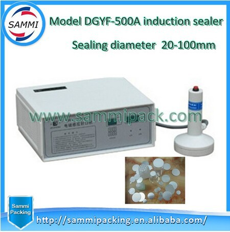 Free Shipping+Electromagnetic Aluminum Foil Induction Sealing Machine/ Cap Sealing Machine Induction Sealer Machine