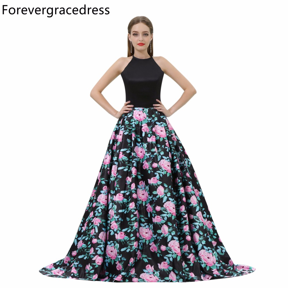 Forevergracedress Floral Print Prom Dress New Arrival -3520