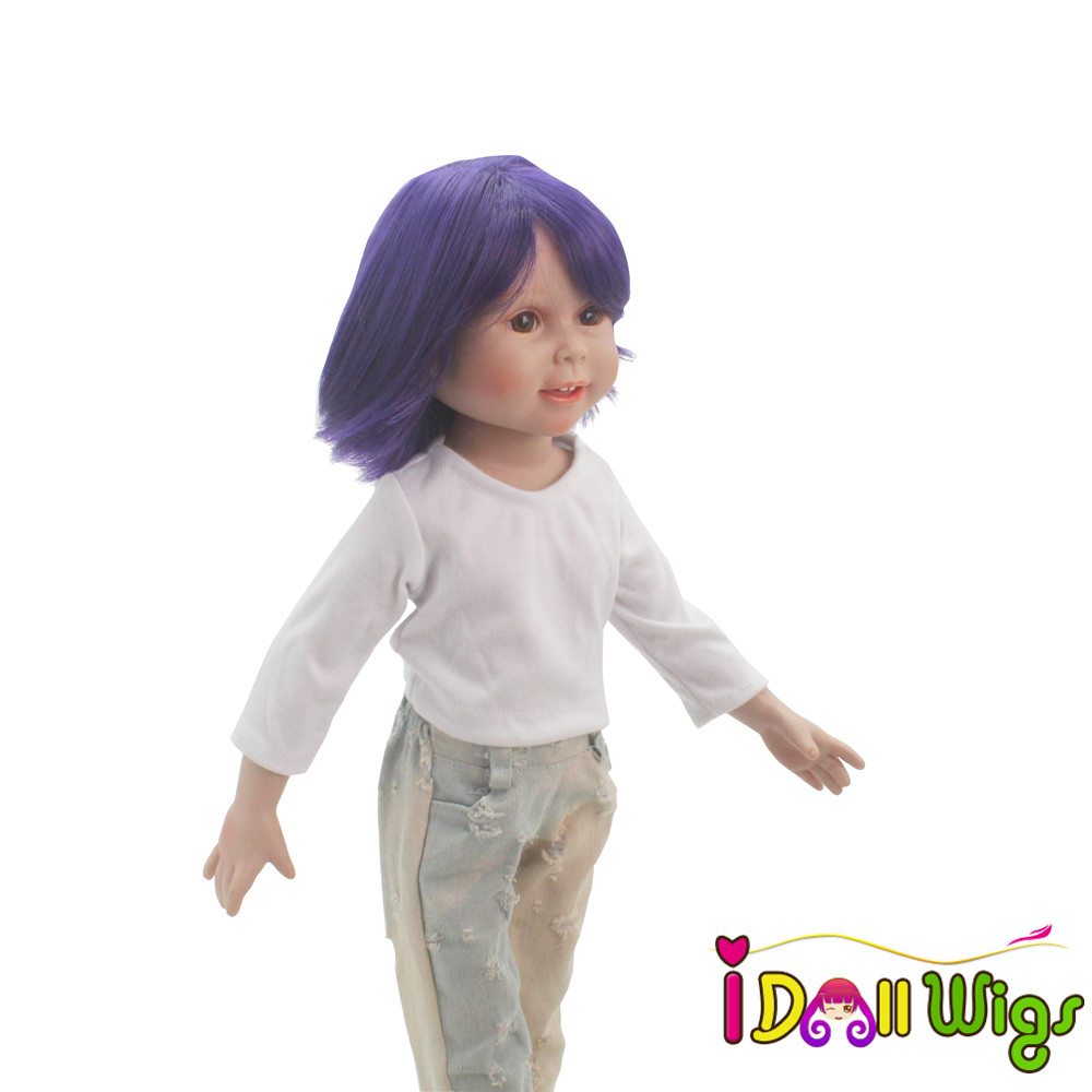 9 10inch Head Circumference Doll Wigs High Temperature ...