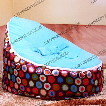 FRETE GRÁTIS feijão bebê tampa saco com 2 pcs céu azul cobertura de feijão bebê saco de feijão cadeira do saco de feijão do bebê do miúdo sacos