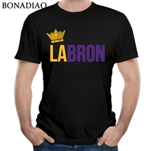 Awesome Lebron James Lakers 3D Print T Shirt For Male Summer New Arrival Homme Tees Round Collar Man Camiseta