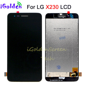 Image 2 - LCD Display For LG K4 2017 M160 X230 X230DSF LCD display With Touch Screen Digitizer Panel Assembly with Frame