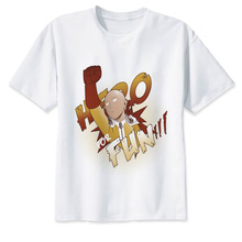 One Punch Man White T-Shirts (7 Models)