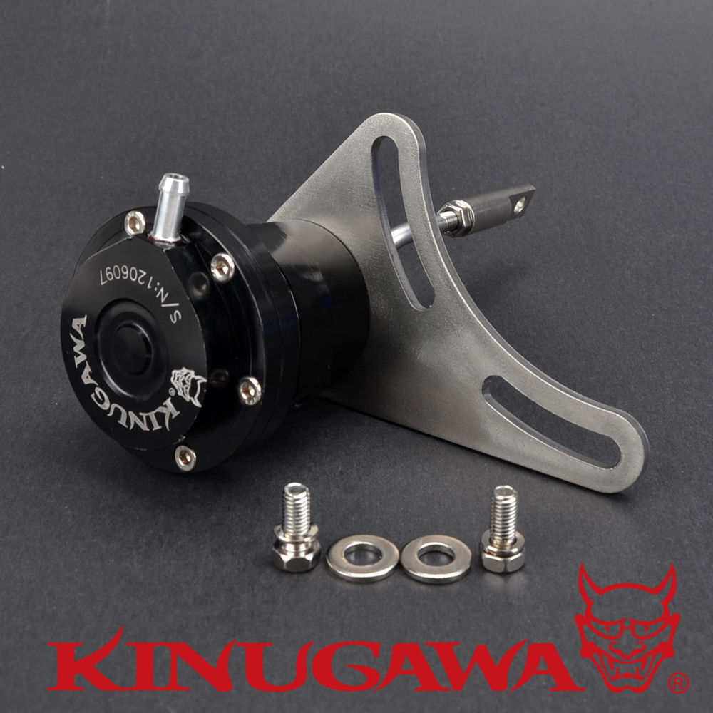 Kinugawa Billet Adjustable Turbo Actuator for Garrett DSM Eclipse 2G T25 T28 1.0 bar / 14.7 Psi