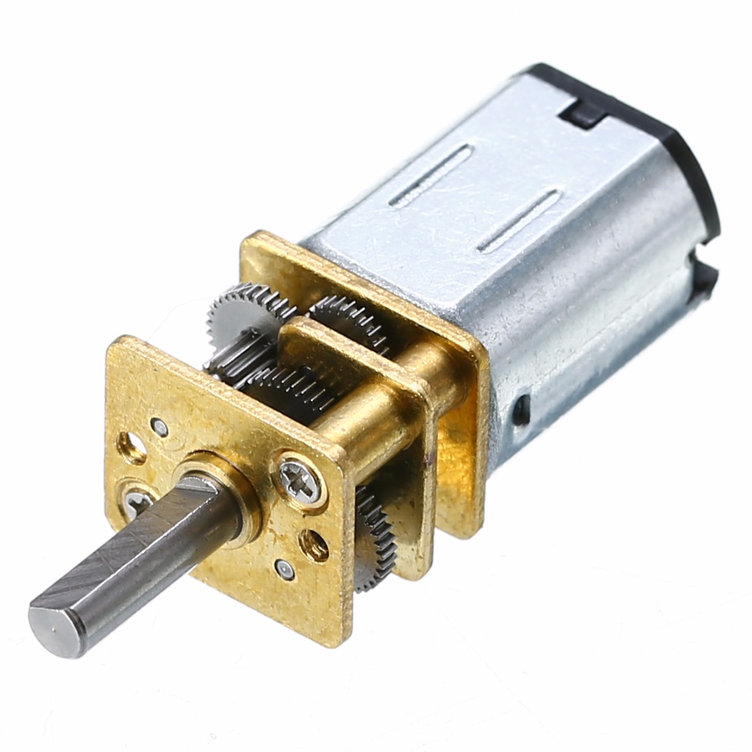 New N20 DC12V 100RPM Gear Motor High Torque Mini Electric Gear Box Motor High Quality 3mm Shaft Diameter n20 dc12v 300rpm mini metal gear motor electric gear box motor
