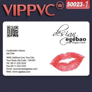 a50023 PVC bar code card template- Same bar code printed on each card