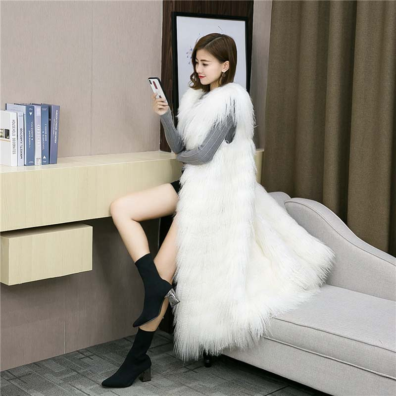 Tibet lamb fur vest long (8)