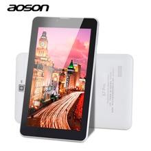 7 дюймов android 6.0 aoson s7 pro quad core 1024*600 ips сенсорный Экран 3 Г 4 Г Телефон Phablet 8 ГБ GPS Bluetooth Dual Пришел Tablet