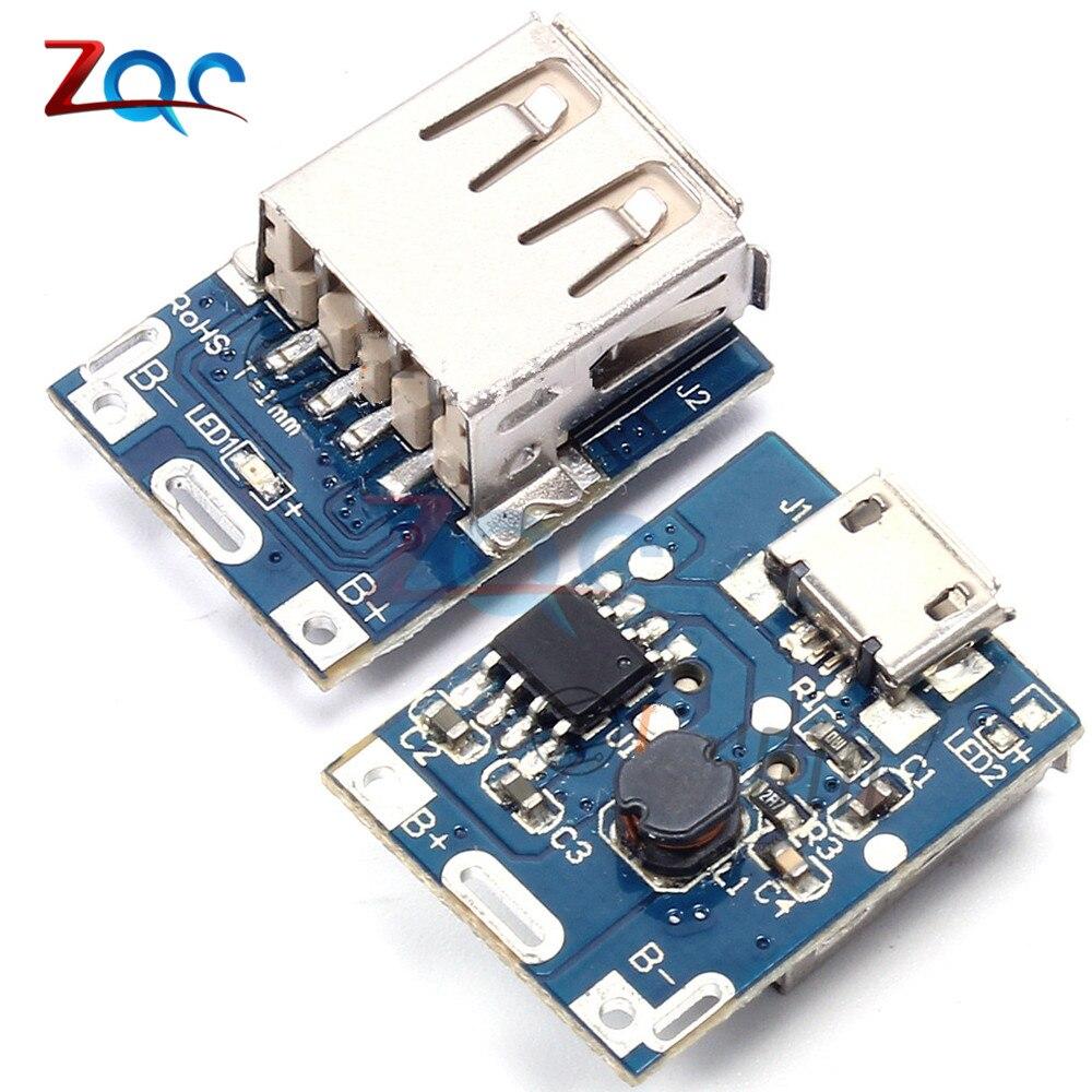 2 шт. DC 5 В Step Up Мощность Модуль литиевая Батарея зарядки защиты Board повышающий преобразователь LED Дисплей USB для DIY зарядное устройство 134n3p
