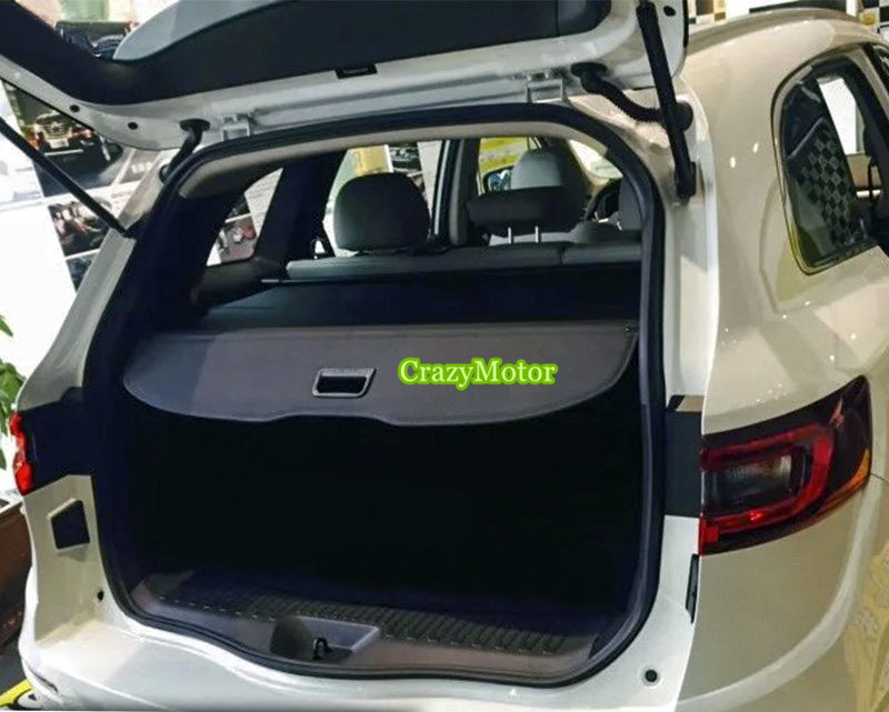 REAR CARGO COVER BLIND RETRACTABLE TRUNK TAILGATE SHADE CURTAIN SECURITY SHELF FOR RENAULT KOLEOS 2017