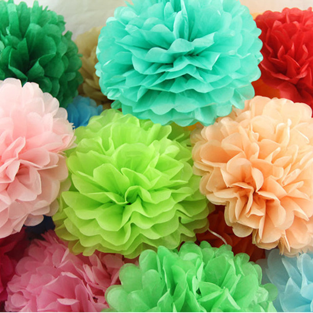 10pcs large tissue paper pom poms diy 1025cm wedding party 10pcs large tissue paper pom poms diy 1025cm wedding party decoration mightylinksfo