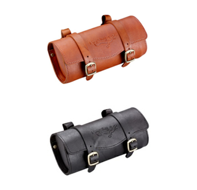 Propalm Taiwan Imported Genuine Leather Upholstery Bag Retro Clical Bike Saddle Package Hy 201 Cowhide