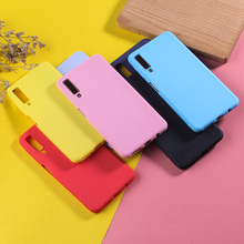 For Samsung Galaxy A7 2018 Case Candy Color Phone Case For Samsung A50 A6 A8 Plus 2018 A3 A5 A7 2017 Luxury TPU Silicone Cover все цены