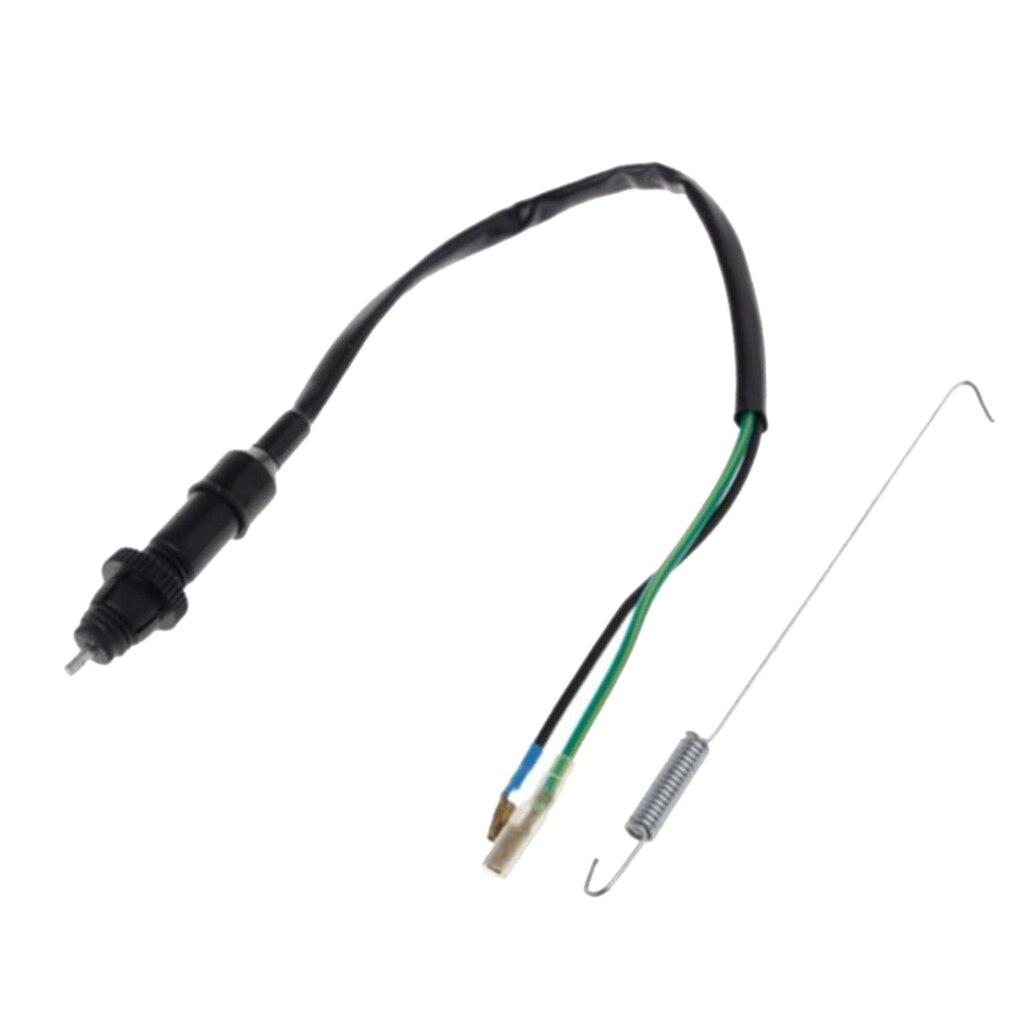 1 комплект Универсальный тормоз выключатель света кабель Весна для мотоцикла Байк ATV