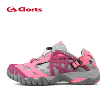 Clorts Aqua Shoes Women Light Wading Shoes Quick Dry Summer Beach Shoes Water Shoes Woman WT-05A/D