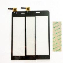 4.5 Pulgadas de Pantalla Táctil Del Teléfono Para Explay Tornado Panel Táctil Pantalla Táctil Digitalizador Del Sensor de Cristal de Reemplazo de Vidrio Frontal