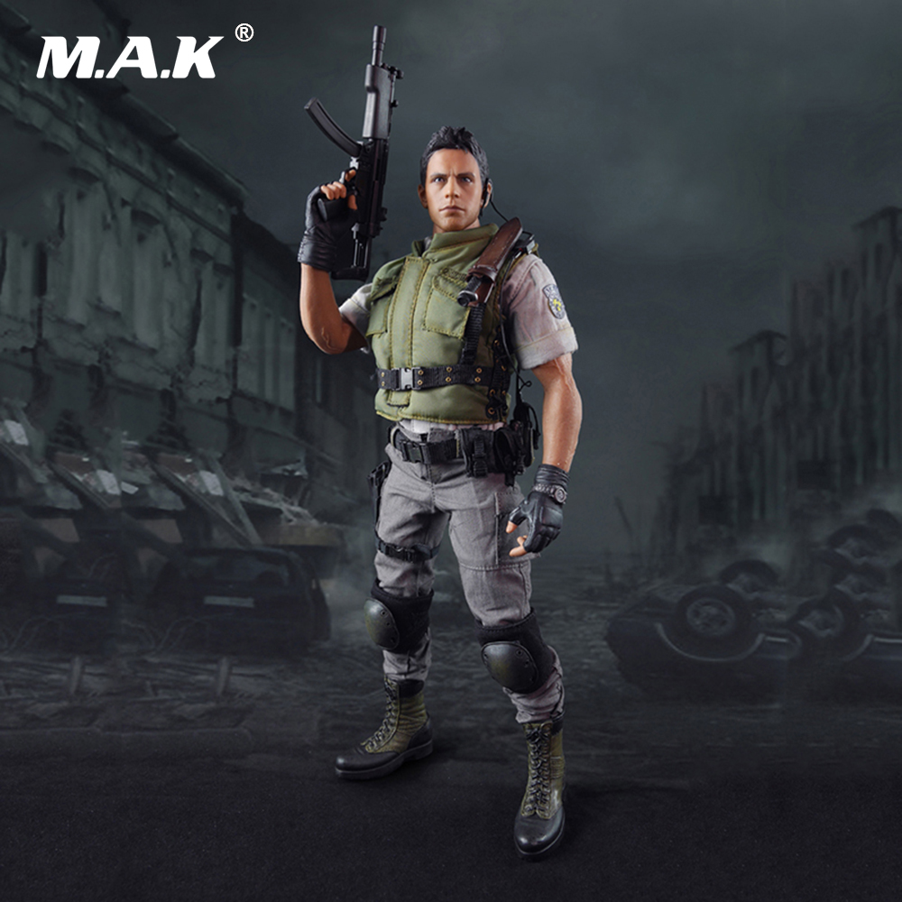1/6 Scale Male Full Set Action Figure With Seamless Body Figure Resident Evil Chris Redfield for Collection 1 6 scale full set male action figure kmf037 john wick retired killer keanu reeves figure model toys for gift collections