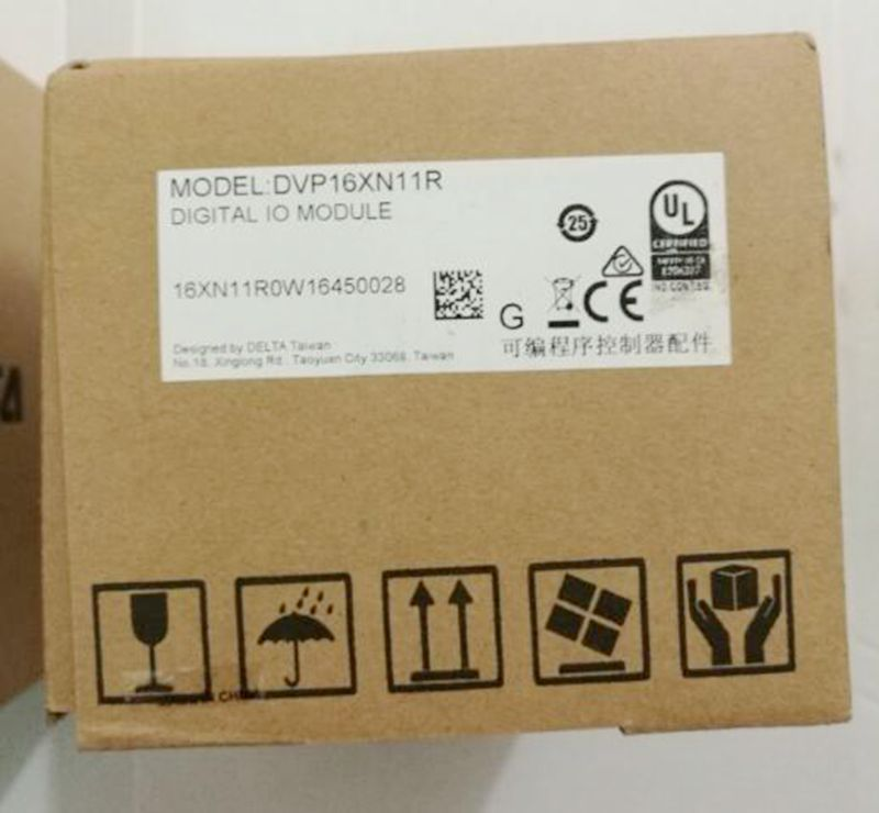 New Original DVP16XN11R PLC 16DO relay output Digital Module new original delta dvp06sn11r dc24v plc 6do relay module