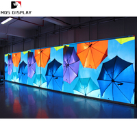 p1.667 narrow pixel pitch indoor advertising video displays led video wall tiles