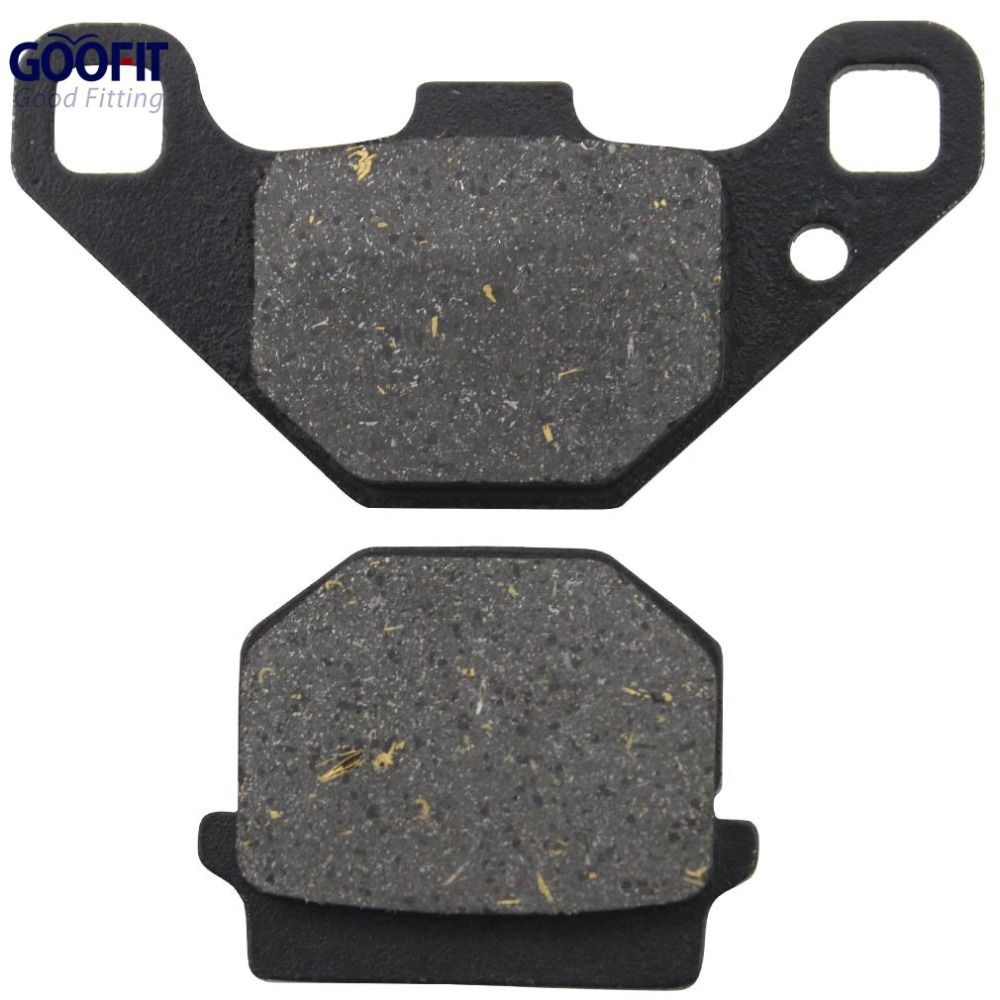 GOOFIT Motorcycle accessory Disc Brake Pad for 50cc 70cc 90cc 110cc 125cc 150cc 200cc 250cc ATV Dirt Bike Mope Scooter C029-017