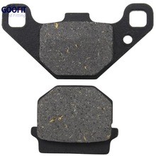 цена на GOOFIT Disc Brake Pad for 50cc 70cc 90cc 110cc 125cc 150cc 200cc 250cc ATV Dirt Bike Mope Scooter C029-017