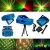 Free Shipping New Blue Fashion Mini Voice Control Laser Pointer Disco DJ Light Xmas Party Stage