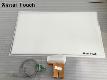 Xintai Touch 15.6Inches 16:9 Ratio 4 Touch Points Interactive Capacitive Multi Touch Foil Film Plug & Play