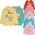 Sweatshirts for girls hooded shirt hoody for girls christmas  boys hoodies Santas roupas infantis menino moleton infantil KD008