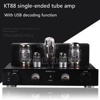 Douk Audio Latest KT88 Single ended Class A Tube Amplifier With USB decoding Upgrading of Computer Sound Card Sound quality