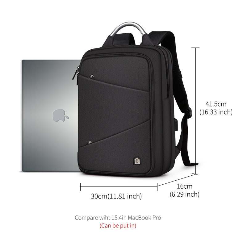 cec289a543 LAORENTOU Casual Men Backpack Women Backpack Travel Bag Multi Functional  School Backpacks For Teenagers   Student-in Backpacks from Luggage   Bags  on ...