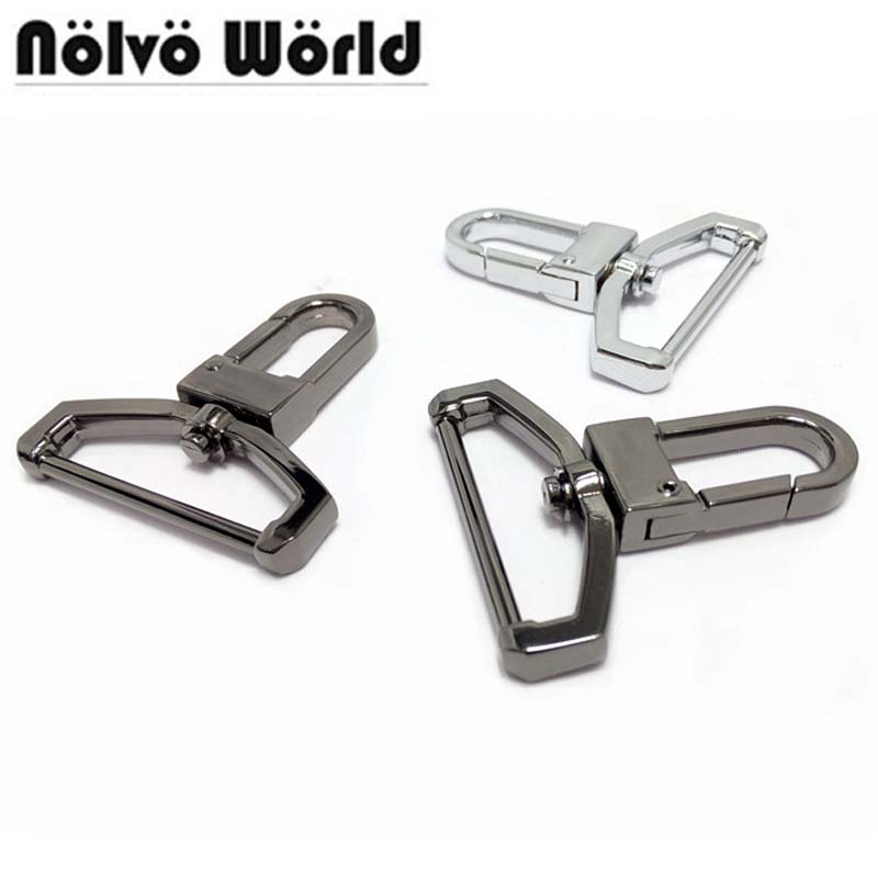 38X55mm Thick enough Gun Nickle snap hook for man bag 38mm removable ribbon,Snap Hooks for men handbags laptop belts strap metal