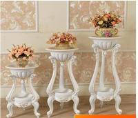 Étagère de pot de fleurs créatif   Support européen pour pot de fleurs dans un intérieur