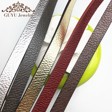 10MM New Flash leather cord/jewelry accessories/jewelry findings/jewelry materials/leather lace/bracelet findings