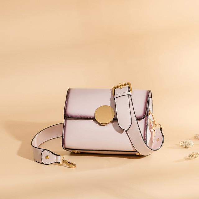 3c330bea2a03 Stylish Lady Hand Bags Handmade Genuine Leather Summer Women Envelope  Shoulder Sling Bags Cow Skin Messenger Female Handbag