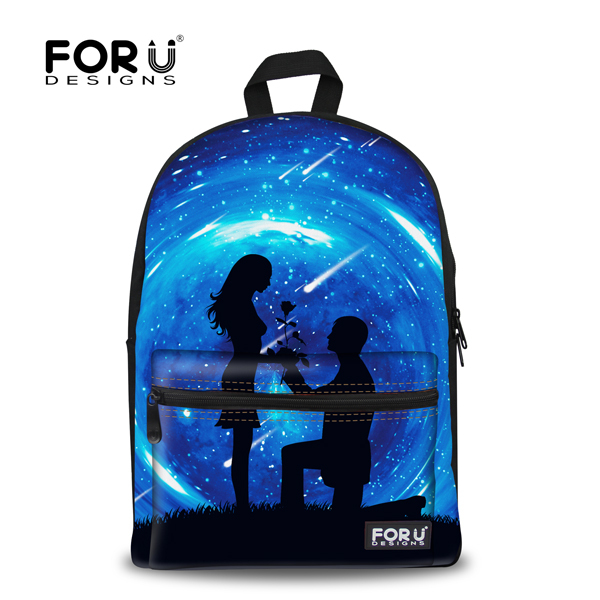 Korean Style Children Galaxy School Backpacks Vintage Canvas Printing Backpack for Woman Teenage Girls Bag Pack Retail children school bag minecraft cartoon backpack pupils printing school bags hot game backpacks for boys and girls mochila escolar