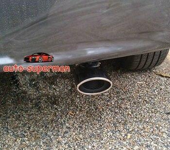 Chrome Exhaust Muffler Tip Pipe For HONDA CIVIC 2012+